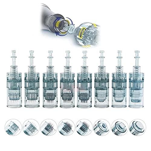 Dermapen Agujas Microneedling Pen - Cartuchos de repuesto para Dr. Geräts M8, 10 unidades, tipo: Nano