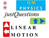 GM Physics Linear Motion Must Know Exam Concepts Problems & Quizzes (Ch 1 Questions) (English Edition)
