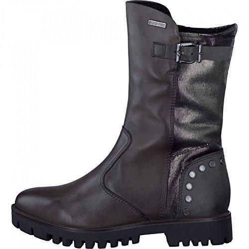 TAMARIS FELIX Enkellaarzen/Low boots dames Grijs Laarzen