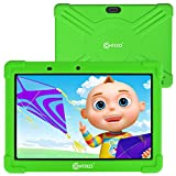 Contixo 10 Inch Kids Learning Tablet with Parental Control 16GB Android 9.0 for Children Infant Toddlers at Home School - Pre-Loaded Educational Apps - Child-Proof Case - Great Gift for Kids (Green)