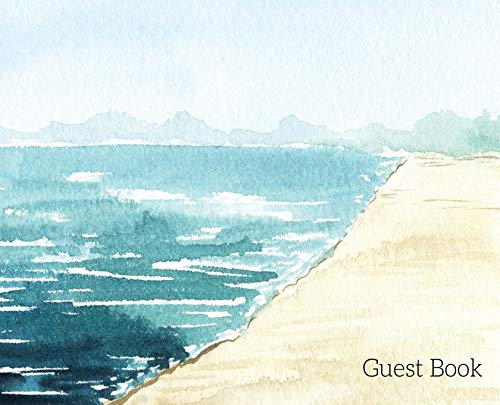 Beach Landscape Guest Book to sign