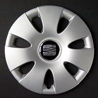 """Wheeltrims - Conjunto de 4 tapacubos para Seat Ibiza 2002> / Cordoba/Leon/Alhambra/Altea/Toledo, con Llantas Originales de 14"""""""