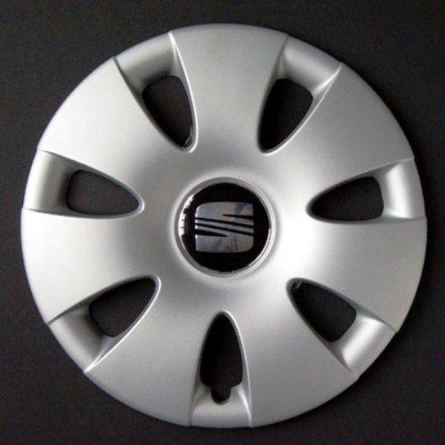 Wheeltrims - Conjunto de 4 tapacubos para Seat Ibiza 2002 / Cordoba/Leon/Alhambra/Altea/Toledo, con Llantas Originales de 14'