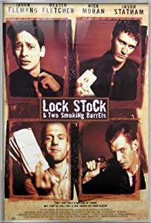 Lock, Stock & Two Smoking Barrels - Framed Movie Poster/Print (Regular Style) (Size: 27 inches x 40 inches)