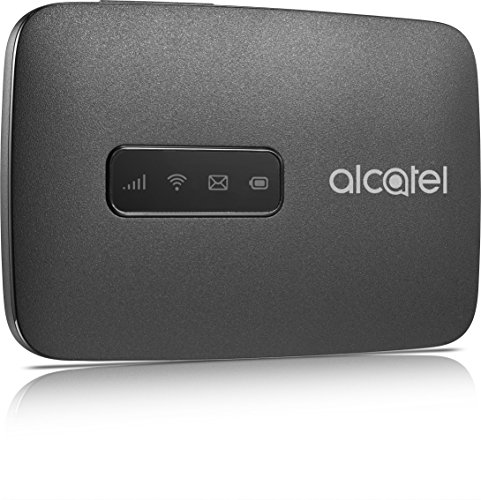 Alcatel MW40V-2AALDE1 LINK ZONE - Zona De Enlace de Internet Móvil (150 Mbps, Wifi Hotspot, 4G Lte Cat4) Negro