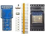 waves ESP8266 WiFiモジュール(技適取得済み) ESP-WROOM-02 キット 青基盤
