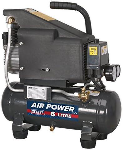 専門店 Sealey SAC0610E Compressor 6ltr Direct Drive 1hp 往復送料無料