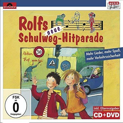 Rolfs neue Schulweg-Hitparade. CD + DVD: Mehr Lieder, mehr Spaß, mehr Verkehrssicherheit. Inkl. Elternratgeber by Unknown(2015-04)