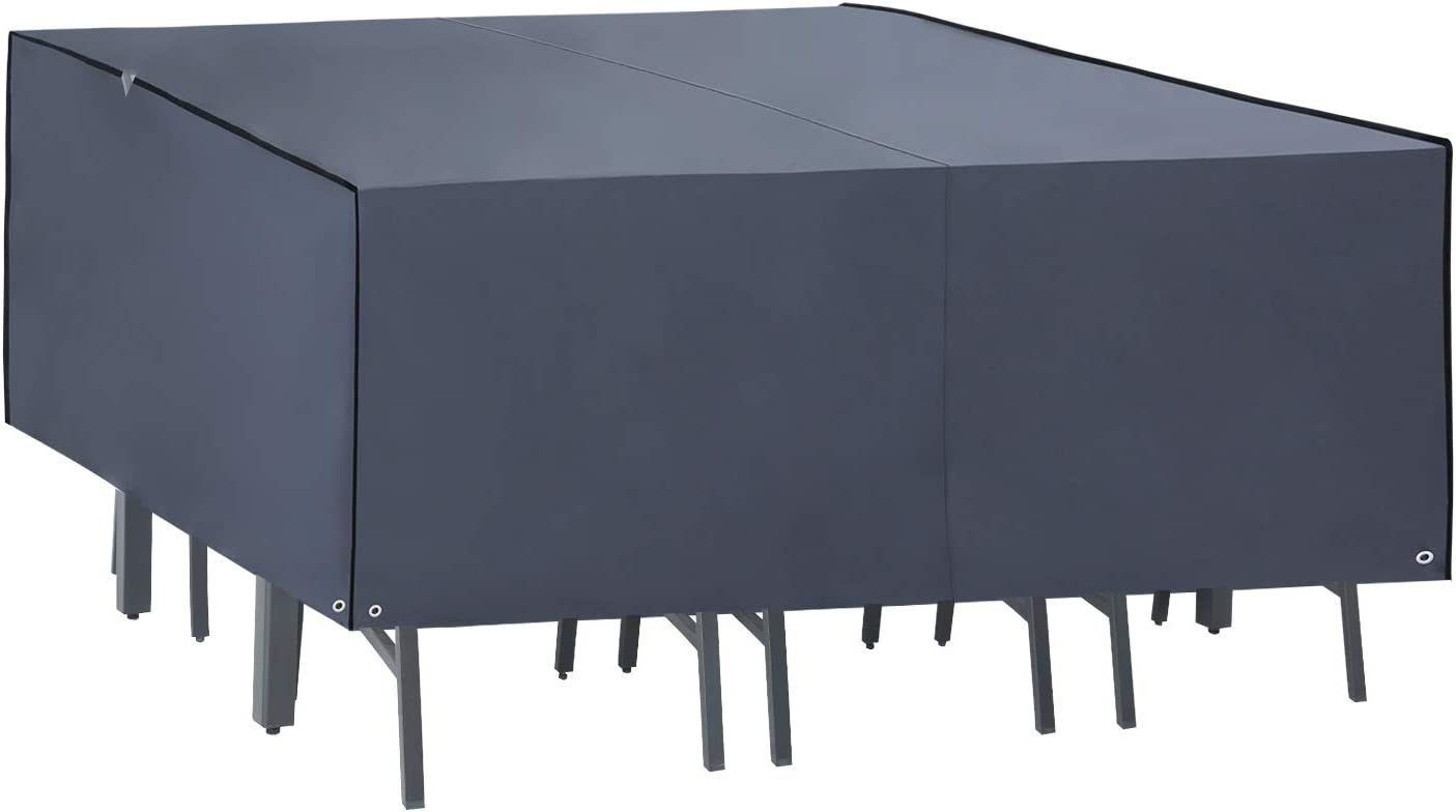 ABCCANOPY Outdoor Our shop OFFers the best service Mail order Square Patio Furniture Oxford Covers Heav 600D