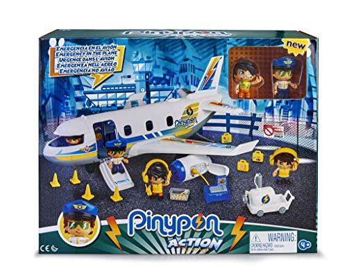 Pinypon Action- Emergencia en el avión con Dos Figuras y de Accesorios, para niños y niñas de 4 a 8 años, (Famosa 700015149) , color/modelo surtido