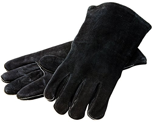 "Lodge 14.5"" Leather Cast Iron Cooking Gloves Image"