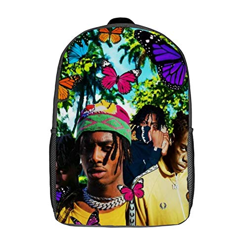 QUEMIN ASAP Rocky Leisure backpack-Mochila clásica para computadora portátil de 17 pulgadas, mochila de camping, mochila de viaje al aire libre, mochila escolar universitaria