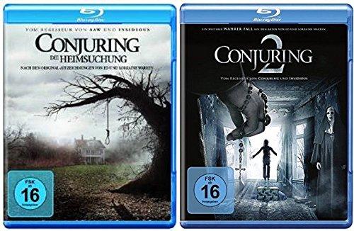 Blu-ray Set * Conjuring - Teil 1+2