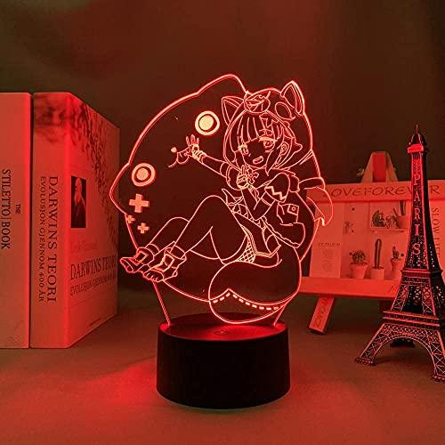 JYDNBGLS Sayu Genshin Impact Meisjes Nachtlampje voor Meisjes Jongens Anime Figuur Lamp voor Kids Slaapkamer Decor…
