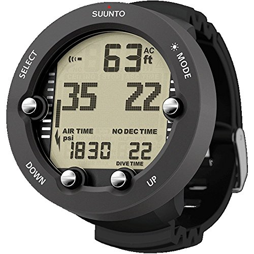 SUUNTO Vyper Air Computer with 3D Compass (Vyper Novo Graphite)