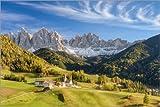 Poster 150 x 100 cm: Villnösstal in Südtirol von Michael