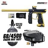 Empire Mini GS HPA Paintball Gun Package C - Dust Black/Gold