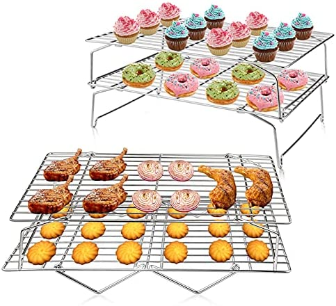 Top 10 Best stacking cooling racks for baking Reviews