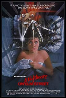 Movie Poster A Nightmare ON ELM Street (1984) 24x36