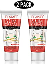 ELAIMEI Hot Cream (2 Pack), Body Fat Burning Cream, Weight Losing Cream, Anti-Cellulite Slim Massage Cream, Slim Cream for Shaping Waist, Abdomen and Buttocks.