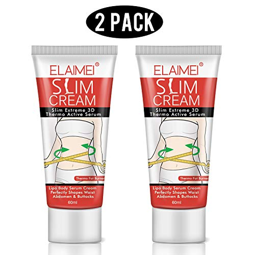Hot Cream 2Pcs,Fat Burner Sweat Cream - Slimming Cream for Belly,Waist and Thighs.