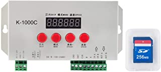 BTF-LIGHTING K-1000C(T-1000S Updated) WS2812B APA102C SK6812 WS2811 WS2801 Led Strip 2048 Pixels Controller DC5-24V Addressable Programmable Controller with SD Card
