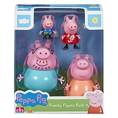 Peppa Pig 06666 Family Figures Pack from Character Options