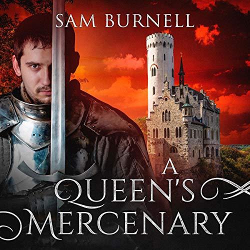 A Queen's Mercenary audiobook cover art