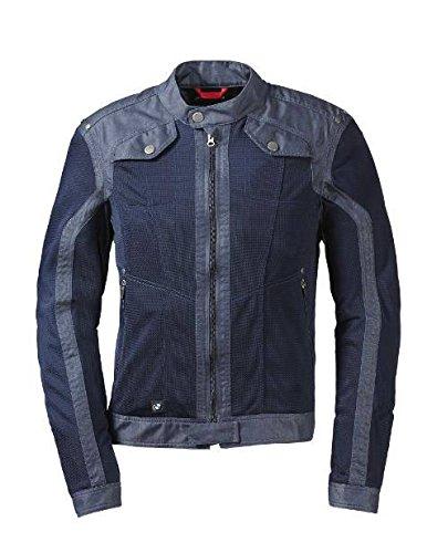 BMW Genuine Motorrad Motorcycle Men Venting Denim/Mesh Riding Jacket Size 60