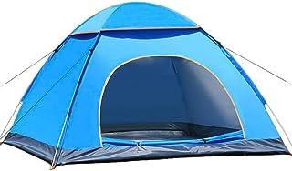XIANRUI テント コンパクト ワンタッチ UVカット 設営簡単 キャンプテント 防災 緊急 ペグ+トップカバー+キャリーバッグ付 2~3人対応