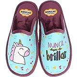 Zapatillas Biorelax Mujer Unicornio - Azul, 36