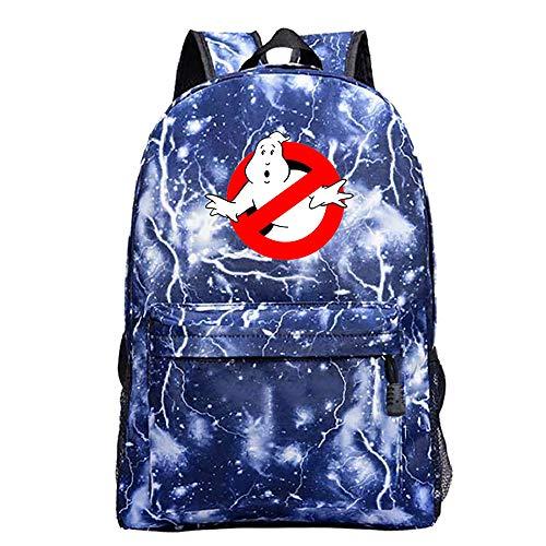 Ghostbusters Freizeitrucksack Mode Wilder Rucksack beiläufige Schule Rucksack Computer-Rucksack Sport-Reisetasche Daypack Unisex (Color : A19, Size : 42 X 30 X 12cm)