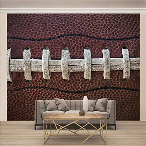 Msrahves vinyl tapeten Sport Rugby Tapete Modern Klassisch Opulent für Schlafzimmer, Wohnzimmer oder Küche Tapeten Vliestapete Vlies Tapete