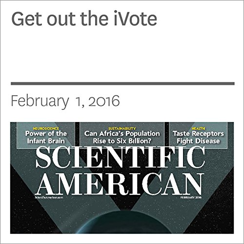 Get out the iVote audiobook cover art