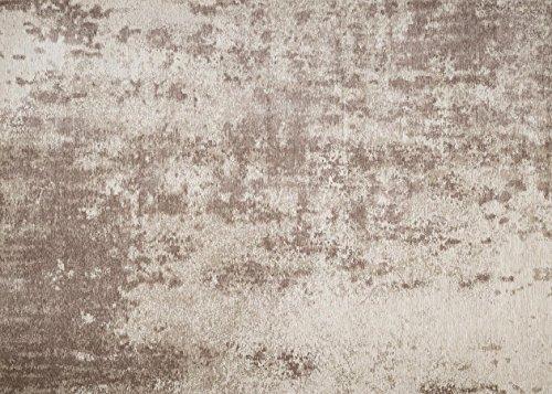 Zone Tapis de sol facile à nettoyer Bonne qualité Tapis Lyon Taupe 160x 230