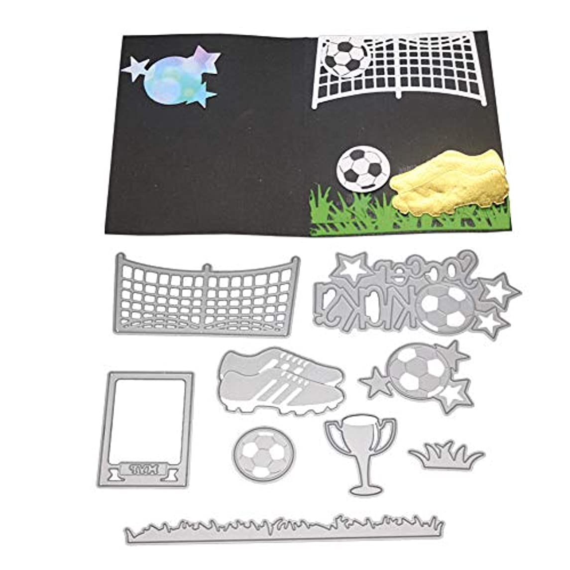 2019 Newest Happy Metal Die Cutting Dies Handmade Stencils Template Embossing for DIY Card Scrapbooking Craft Paper Decor by E-Scenery (C)