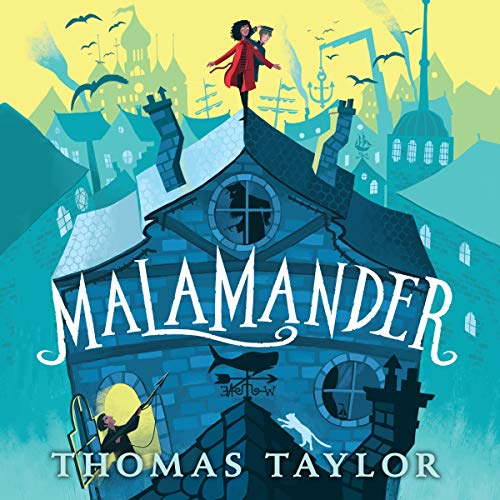 Malamander audiobook cover art