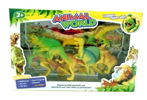 Unbekannt Prähistorische Dinosaurier Spielzeug Figuren & Zubehör, Enthält 9...