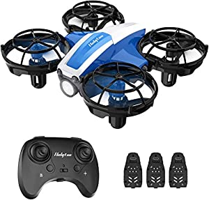 Holyton HS330 Hand Operated Mini Drone for Kids Beginners - Remote Control Quadcopter with Altitude Hold, Throw to Go, Circle Fly, 3D Flip, 3 Speed Modes, 3 Batteries, Great Toy for Boys & Girls by Holyton