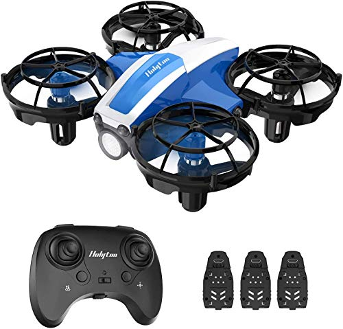 Holyton HS330 Hand Operated Mini Drone for Kids Beginners - Remote Control Quadcopter with Altitude Hold, Throw to Go, Circle Fly, 3D Flip, 3 Speed Modes, 3 Batteries, Great Toy for Boys & Girls