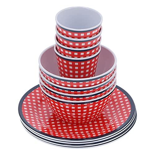 Vajilla, vajilla de melamina Juegos de vajilla con plato de taza para familias, restaurantes y hoteles