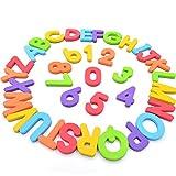 Seatrend Colorido Bebé Juguetes 114PCS magnético letras de espuma EVA para niños de día