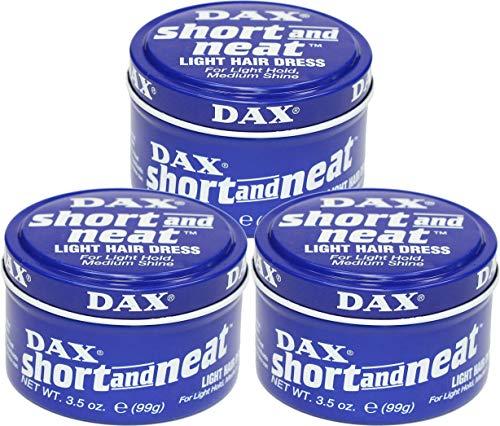 3 x DAX Short and Neat Light Hair Dress 99 g (297 g).