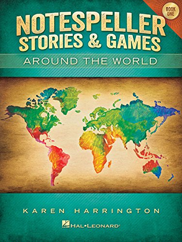 Notespeller Stories And Games - Around The World - Book 1 Elementary (PIANO)