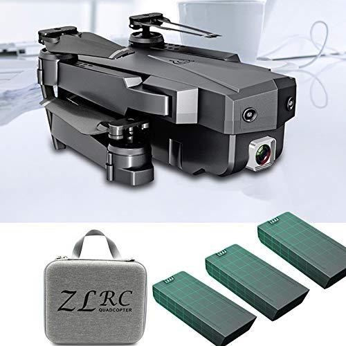WIFI FPV Mini Drone 2.4GHZ 4K HD Verstelbare camera Volg opnamemodus Vouwvleugel quadcopter Buitenspeelgoed voor kinderen, kan als cadeau aan uw kind worden gegeven,3battery