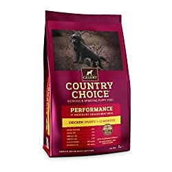 Gelert Country Choice Performance Puppy 12kg Foods - Dog - Dry Working / Racing