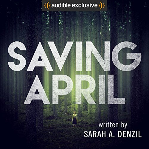 Saving April audiobook cover art