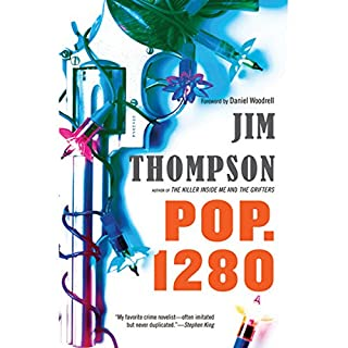 Pop. 1280 audiobook cover art