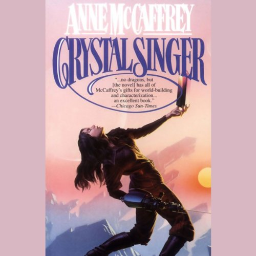 Crystal Singer audiobook cover art