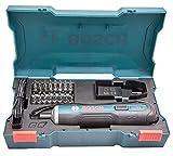 Bosch Go - Juego de destornilladores inteligentes (3,6 V, 33 piezas, color azul)